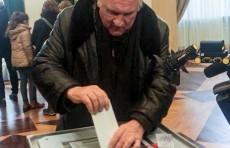 Жерар Депардье проголосовал на выборах президента Росcии