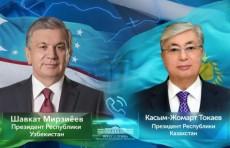 Шавкат Мирзиёев поздравил Касым-Жомарта Токаева с выдвижением его кандидатуры на выборах Президента