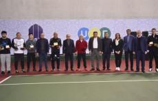 В столице состоялся теннисный турнир на «Кубок NBU»
