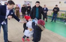 Узпромстройбанк провел благотворительную акцию «Согреем детские сердца»