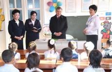Президент ознакомился с деятельностью дошкольного образовательного учреждения