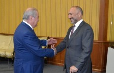 Абдулазиз Камилов провел встречу с советником Президента Афганистана
