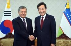 Президент Узбекистана встретился с Премьер-министром Республики Корея