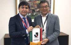 Генеральный директор ПФЛ встретился с главой Японской профессиональной футбольной лиги