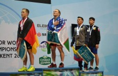 Адхамжон Эргашев стал чемпионом мира по тяжелой атлетике