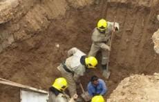 В Кашкадарьинской области рабочих завалило грунтом