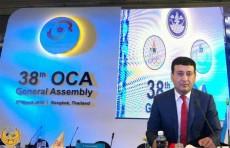 Умид Ахматджанов утвержден на должность вице-президента Олимпийского Совета Азии
