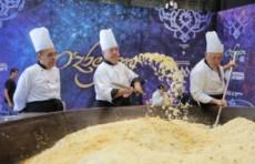 В Узбекистане установили мировой рекорд по приготовлению плова