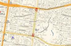 12 декабря улица им. Чингиза Айтматова будет частично закрыта для проезда