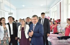 Президент ознакомился с предприятием «Milana teхtilе»