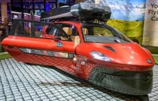 В Лондоне представили летающий автомобиль PAL-V Liberty