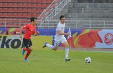 Олимпийская сборная Узбекистана проиграла Южной Корее на ЧА по футболу