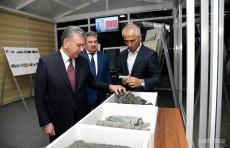 Президент ознакомился с проектом строительства горно-металлургического комплекса на базе Тебинбулака