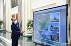 В Кибрайском районе на площади 160 гектаров построят олимпийский городок