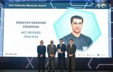 Равшан Ирматов официально завершил карьеру рефери ФИФА