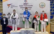 Узбекская таэквондистка Чарос Каюмова стала чемпионкой Азии