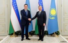 Шавкат Мирзиёев принял Премьер-министра Казахстана Аскара Мамина