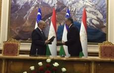 Вступило в силу соглашение о стратегическом партнёрстве с Таджикистаном