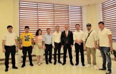 Съемочная группа из Казахстана снимает документальный фильм об Узбекистане