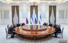 Президент Узбекистана принял председателя Государственной думы России