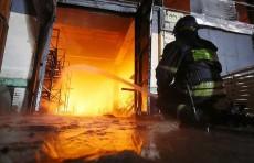 Гражданин Узбекистана погиб при пожаре в Санкт-Петербурге