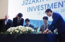 По итогам инвестиционного форума в Джизаке подписаны документы на $800 млн.