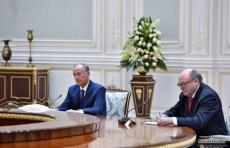 Шавкат Мирзиёев принял секретаря Совета безопасности Российской Федерации