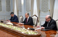 Президент Шавкат Мирзиёев принял Сергея Лаврова